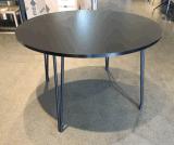 Ronda de estilo moderno restaurante de serviço pesado com mesas e cadeiras de restauração