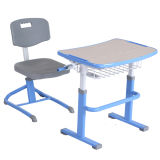 Kids Study Desk with Flesh for Primary School Old Furniture