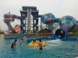 Скольжения бассеина скольжений воды стеклоткани тематического парка