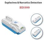 Detetor portátil dos explosivos do detetor HD300 do traço dos explosivos