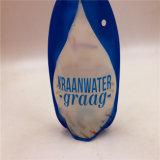 Matériau Liquide transparent verre pochette de la goulotte en plastique pour l'eau