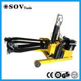 Extracteur hydraulique monté sur véhicule de roulement d'exécution facile