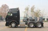 Sinotruk 2017年の420HPの新しく頑丈な10の荷車引きのトラクターのトラック