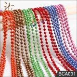 Encadenamiento de la bola del color de la calidad de la manera Niza para la cortina