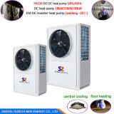 Sauvegarder l'eau chaude électrique Cop4.28 élevé 12kw, 19kw, 35kw, pompe de la subsistance 55deg c de 70% à chaleur d'air de chaufferette d'étang de poissons de 70kw R410A
