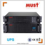 Onde sinusoïdale pure 1~ UPS en ligne à haute fréquence de 10 KVAs