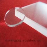 Claro de alta pureza de la placa de cristal de cuarzo.