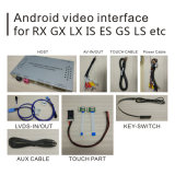 Sistema de navegación GPS Android Caja para Toyota Land Cruiser LC200 Video Interface Quad Core...