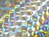 Filme holográfico de PVC