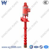 Pompa antincendio verticale elettrica della turbina delle pompe centrifughe di Multisatge