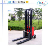 Semi Electric 다리 유형 Forklift&#160를 걸터앉으십시오; 쌓아올리는 기계