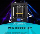 금속 2 바탕 화면 DIY 2017 최신 LCD12864를 가진 판매에 의하여 조립되는 쉬운 운영 A3-S 3D 인쇄 기계