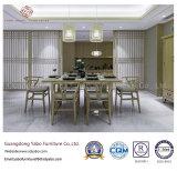Mobilia casuale del ristorante con la presidenza del tessuto impostata (YB-R-13)