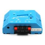 Двойная индикация СИД Ys1208 регулятора обязанности 8A-12V USB-5V/3A миниая солнечная
