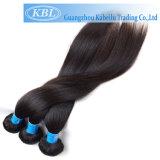 Шелковистая прямой бразильского человеческого волоса панельной заготовки