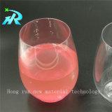 Vidros de vinho plásticos personalizados pequenos