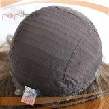 Peluca judía del color de Brown oscuro (PPG-l-01717)