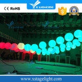 El LED levanta la luz cinética del control LED de la música de la bola del color