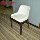 Stoel van de Modern Restaurant Furniture White Eetkamer van het Leer van Henar de Houten