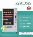 Máquina de Venda Automática de combinação para as vendas de snacks e bebidas (VCM4-5000)