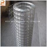 Malla de alambre soldada de acero galvanizado para la construcción usa