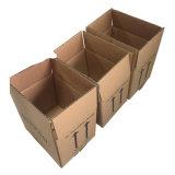 Подгонянная коробка коробки упаковки Rsc Brown логоса