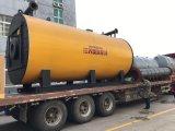 Caldera termal vertical grande del petróleo
