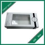 Contenitore di carta impresso marchio di cartone con la finestra del PVC
