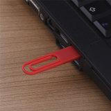 데이터 클립 모양 16GB 섬광 드라이브 USB 디스크 귀여운 선물