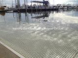 La fibra de vidrio moldeado rallado, el FRP pasarelas, paneles GRP, Glassfiber rejillas.