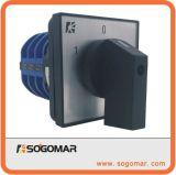 Interruptor de selector rotatorio de alto voltaje 32A