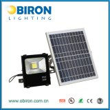 reflector solar impermeable al aire libre 30W IP65