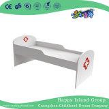Het witte Houten Bed van de Isolatie van het Spel van de Rol van de Kinderen van de School voor het Meubilair van de Kleuterschool (Hg-6309)