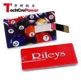 Fabricante de la tarjeta de crédito plástico del mecanismo impulsor del flash del USB Hu-2-8, tarjeta de visita del USB promocional, palillo del USB de la tarjeta de encargo