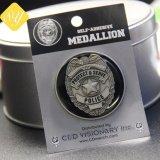 最もよい品質の金属のブリキによってめっきされるカスタマイズされた印刷ボタンのバッジ