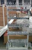 Gancho de leva del estante del cromo del supermercado de la visualización de la alta calidad para los calcetines/las correas/los accesorios