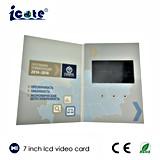 Lcd-Videokarte/videobroschüre als Geschenk/videogruß-Karte 7 Zoll