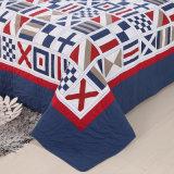 Home Produtos Têxteis com as fronhas Prewashed personalizados roupa de cama confortável durável de 3 Peças acolchoados Colcha Coverlet Definido