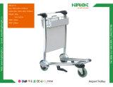 Chariot de chariot à achats d'aéroport de 3 roues