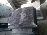 Pietra nera granito/del marmo per il monumento/lapide/pietra tombale/memoriale/Headstone per i prodotti di qualità dell'Ue (SG03)