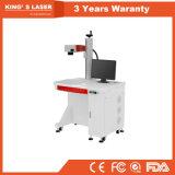 Машина маркировки лазера высокой точности 100W Stanlesssteel волокна