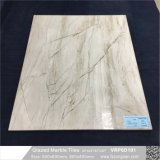 床を張る艶をかけられた大理石の磨かれた磁器の浴室の壁および床タイル(600X600mm、VRP6D034)に