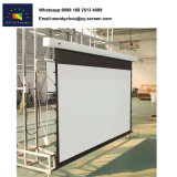 Matériau blanc mat et oui Ecran de projection motorisés portatifs