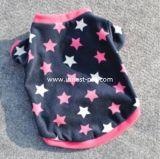 Pull molletonné neuf de 2017 vêtements de crabot avec le pull molletonné de vêtement d'animal familier d'étoiles