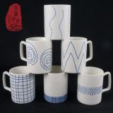China fábrica de cerámica de porcelana taza de té