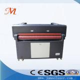 De Machine van de Gravure van de Laser van twee Hoofden met zelf-Voedt Controle (JM-1814t-bij)