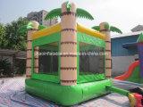 販売のための熱帯森林ココヤシの木の膨脹可能な跳ね上がりの家