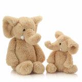 2017 아기를 위한 고명한 채워진 견면 벨벳 코끼리 장난감