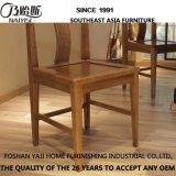 Mobilier de maison en bois massif chaise de salle à manger (CH635)