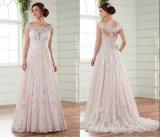 Выключение плечо устраивающих платье Русалки шампанское тюль свадебные платья H16227
